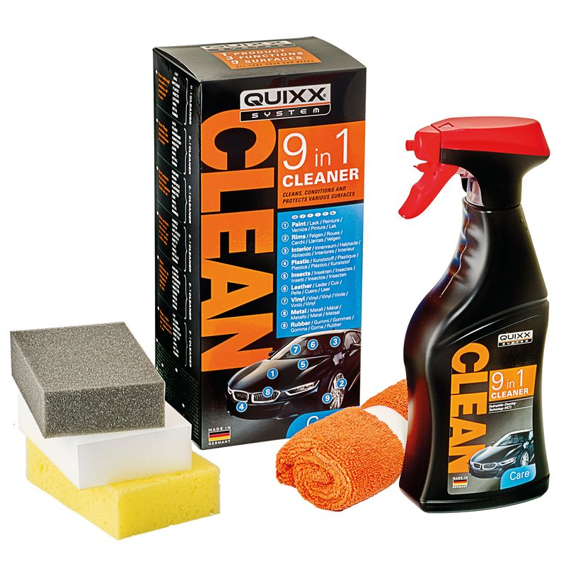 QUIXX 9-In-1 Cleaner For All Surfaces