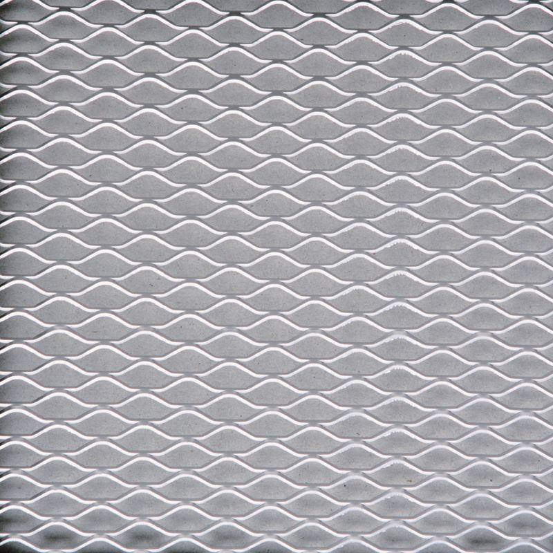 Aluminium Grille Mesh Silver Diamond Pattern 33×100 cm | Sumex